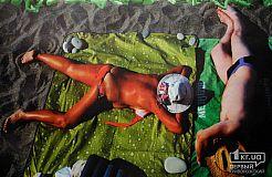 """Фотовыставка пляжных фото """"КуКи"""" в криворожской галерее"""