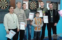 В Кривом Роге состоялся чемпионат города по дартсу
