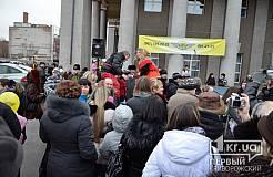 Празднование «Масленицы» на проспекте Карла Маркса