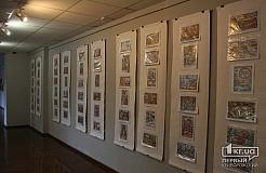 В Кривом Роге проходит выставка карикатур Анатолия Гайно