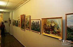 Открытие экспозиции картин Надежды Балабаевой