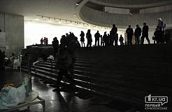 """Внутри """"Украинского дома"""" в Киеве. Евромайдан 2014"""