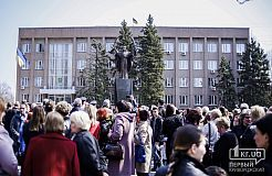 В Кривом Роге открыли памятник Покрова Пресвятой Божьей Матери