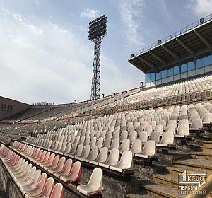 Инспекция криворожской ДЮСШ и стадиона Металлург