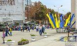 День танкиста на проспекте Почтовый