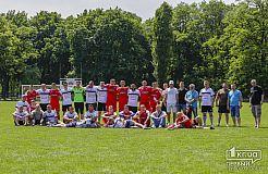 Благотворительный футбольный матч между «Кривой Рог» и «Кривбасс АТО»