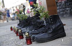 Криворіжці вп'яте зібрались на центральній площі, аби вшанувати загиблих на борту Іл-76