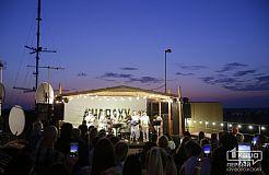 На закате в Кривом Роге закрыли сезон джазовых вечеринок