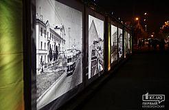 Выставка ретро-фото на проспекте Почтовый в Кривом Роге