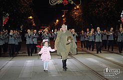 На рассвете криворожане первыми в Украине начали митинг ко Дню Победы