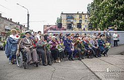 День победы в Саксаганском районе Кривого Рога