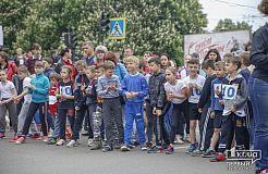 Криворожане 9 мая устроили легкоатлетический забег