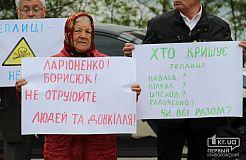 Незаконное строительство теплиц на Крэсовском-2 пытаются остановить жители поселка в Кривом Роге