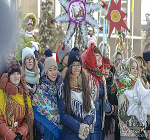 Різдвяна хода Вертепу у Кривому Розі