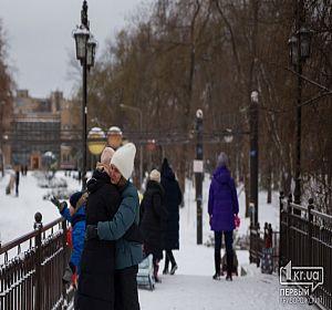 Первый снег в 2021 году