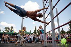 Открытие спортивной площадки для Street Workout