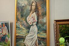 Выставка художников города ко Дню Независимости Украины