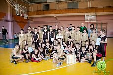 Городской турнир по баскетболу