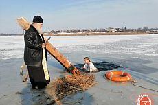 Крещенские купания в Чкаловке