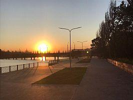 Набережная в парке имени Богдана Хмельницкого