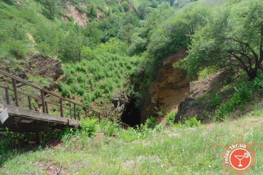 «Кривой Рог туристический»: Места подобные горным пещерам и рекам
