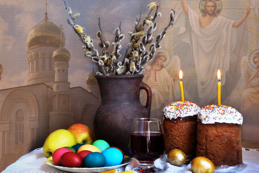 Благовещение, Великий пост и Пасха: Православный календарь на апрель