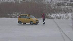 Ездюки на льду