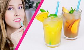 Холодный фруктовый чай