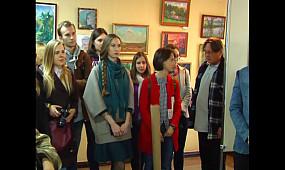 Выставка факультета искусств