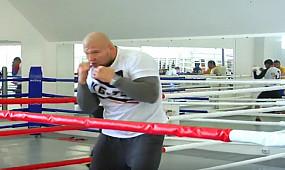 Открытая тренировка по боксу