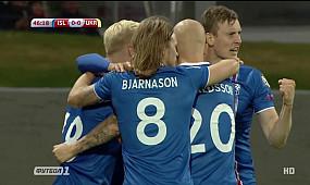Исландия — Украина. Обзор матча. 2:0. 05.09.2017