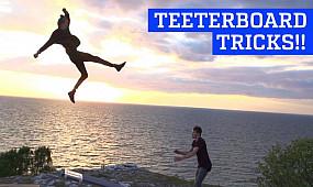 Incredible Teeterboard Tricks & Flips!