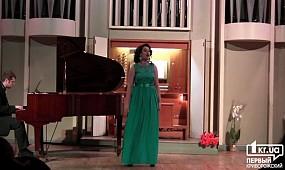 Криворожанка поет в органном зале Днепра | 1kr.ua