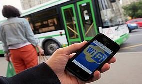 Wi-Fi в общественном транспорте. Кривой Рог