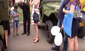 Выставка ретро автомобилей в г. Кривой Рог 24.08.2016