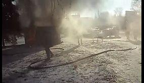 Пожар на Даманском.