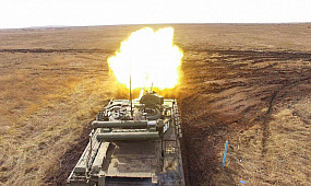 Бойовий вишкіл танкістів