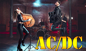 AC/DC vs BACH - THUNDERSTRUCK FUGUE | Bandura & Accordion Cover | B&B Project