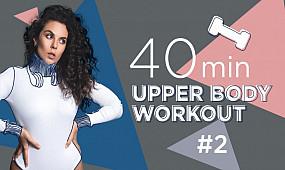 Sport with NK | 40 минут лучших упражнений на верхнюю часть тела #2