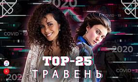 Топ 25 кліпів та пісень за травень 2020 на YouTube / українська музика