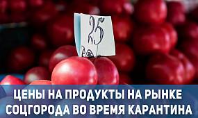 Общество Кривой Рог: цены на продукты на рынке соцгорода во время карантина | 1kr.ua