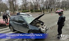 ДТП Кривой Рог: столкнулись Renault и Peugeot | 1kr.ua