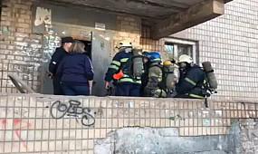 В Кривом Роге горит квартира