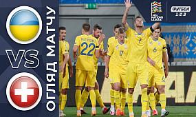 Украина - Швейцария. Обзор матча. 2:1. 03.09.2020