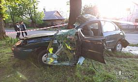 В Кривом Роге во время ДТП погиб водитель авто
