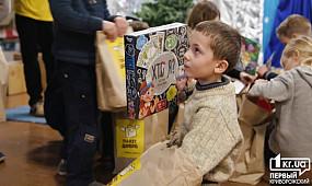 «Пакет добра» для детей со школы-интерната в Кривом Роге | 1kr.ua