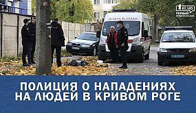 Полиция о нападениях на людей в Кривом Роге | 1kr.ua