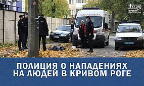 Полиция о нападениях на людей в Кривом Роге   1kr.ua