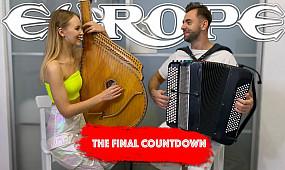Europe - The Final Countdown   Кавер на Бандуре и Баяне