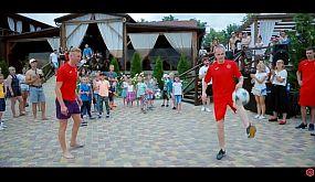 ФК «Кривой Рог» организовал футбольную вечеринку в ресторанно-гостиничном комплексе Richka